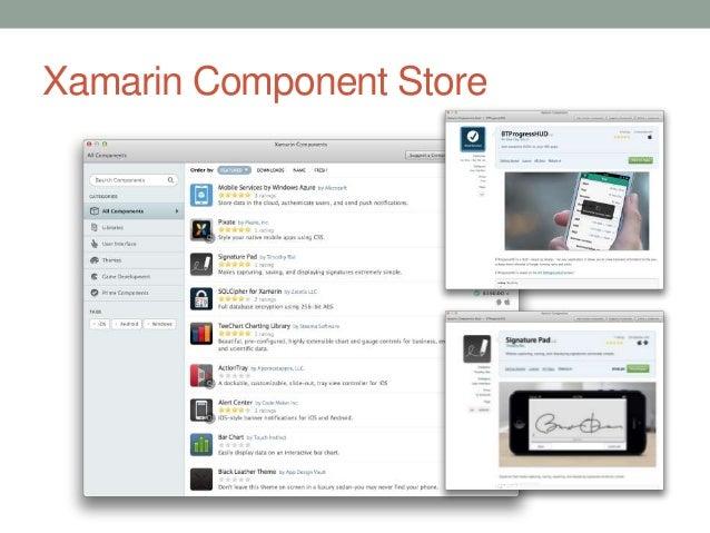 Xamarin Component Store