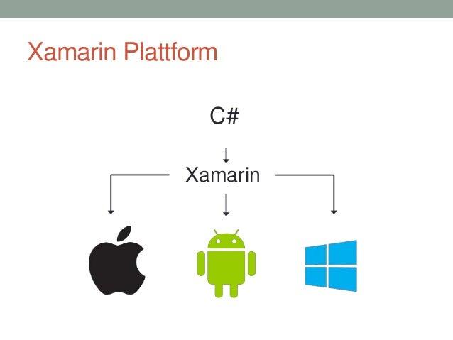 Xamarin Plattform C# Xamarin
