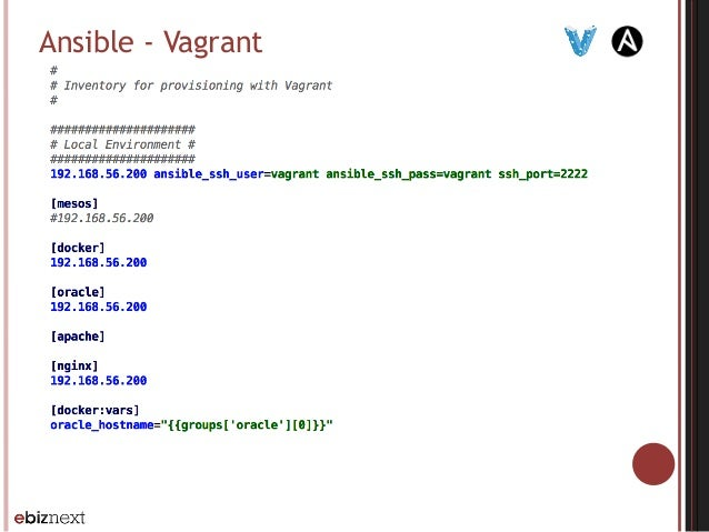 Ansible - Vagrant