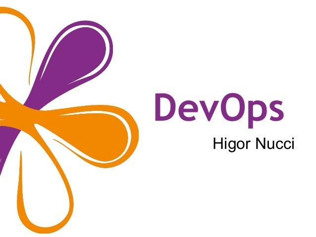 DevOps Higor Nucci