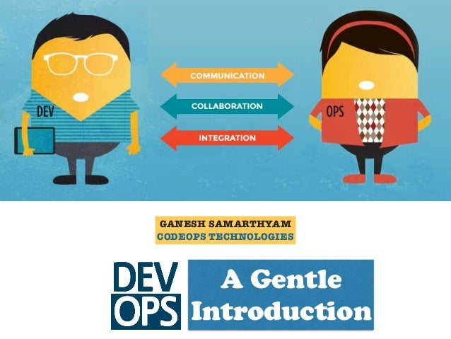 GANESH SAMARTHYAM CODEOPS TECHNOLOGIES A Gentle Introduction