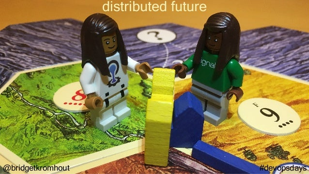 @bridgetkromhout #devopsdays distributed future