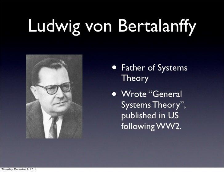 Ludwig Von Bertalanffy Father