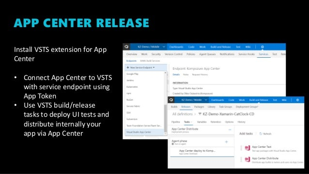Mobile DevOps with VSTS and AppCenter