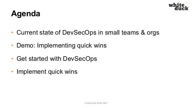 Microsoft DevOps Forum 2021 – DevOps & Security Slide 3