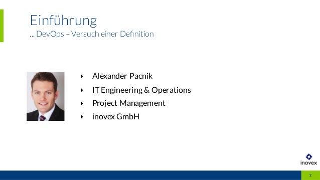 DevOps in der Praxis Slide 2