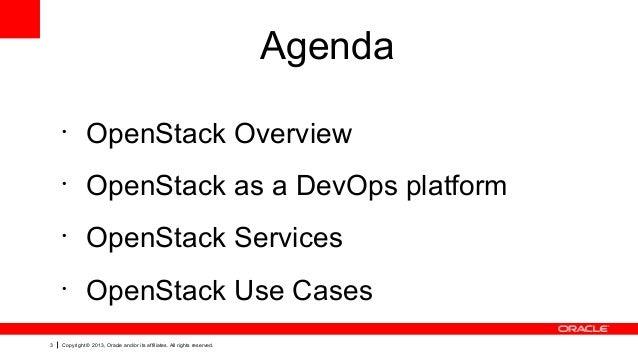 OpenStack for devops environment  Slide 3