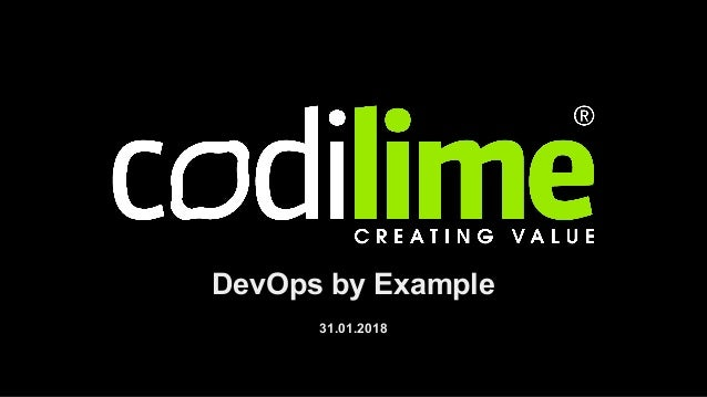 DevOps by Example 31.01.2018