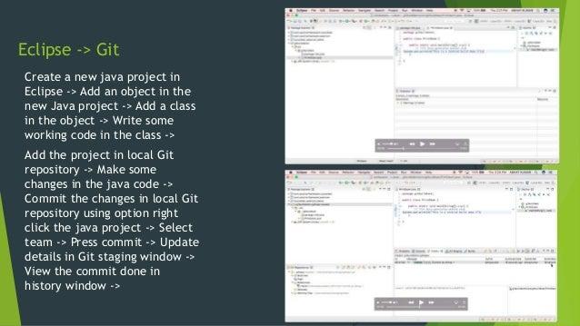 DevOps CI Automation - Eclipse -> Git ->Jenkins