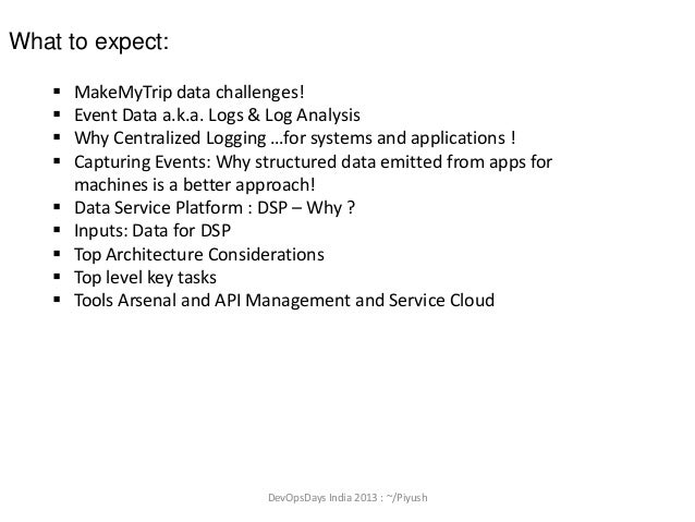 Importance of 'Centralized Event collection' and BigData platform forAnalysis ! Slide 2