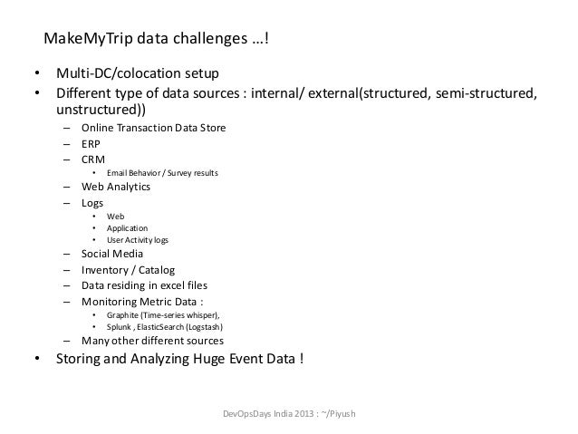 Importance of 'Centralized Event collection' and BigData platform forAnalysis ! Slide 3