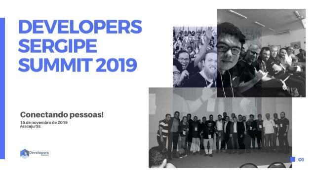 #developerssergipe Apoio Patrocinadores