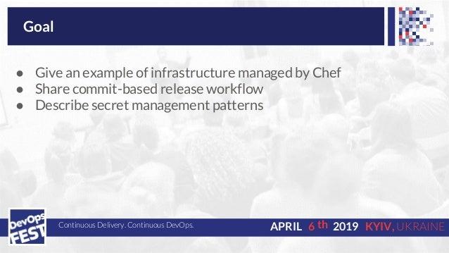 DevOps Fest 2019. Олег Белецкий. Using Chef to manage hardware-based infrastructure Slide 2