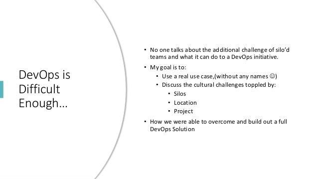 DevOps in Silos Slide 3
