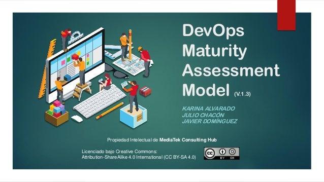 DevOps Maturity Assessment Model (V.1.3) KARINA ALVARADO JULIO CHACÓN JAVIER DOMÍNGUEZ Propiedad Intelectual de MediaTek C...