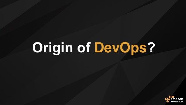 Origin of DevOps? 아마존닷컴의 사례