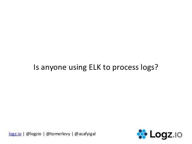 The DevOps Toolbox: Open Source Log Analytics Slide 2