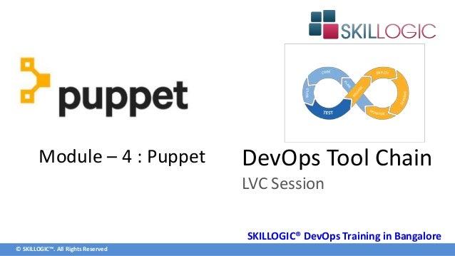 DevOps Tools Puppet Training Syllabus Part 1