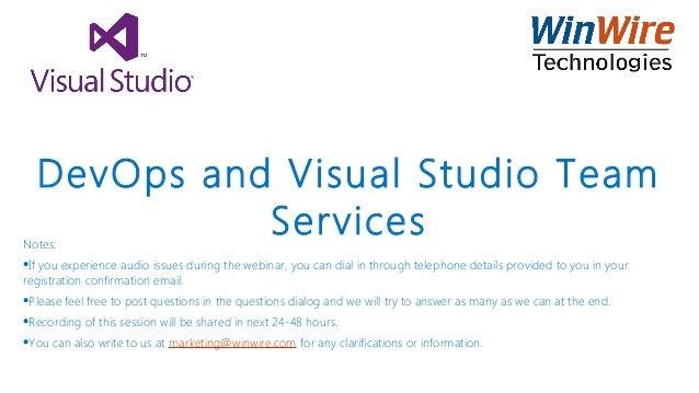 devops and visual studio team services