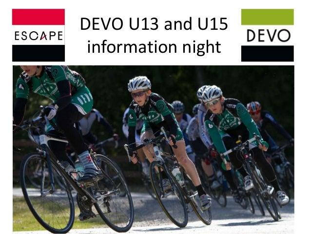DEVO U13 and U15 information night