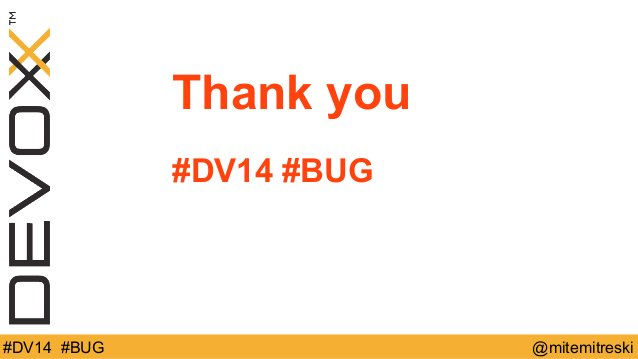 Devoxx 2014 : Sparky guide to bug free JavaScirpt