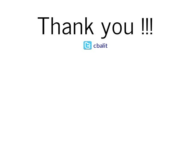 Thank you !!!  cbalit