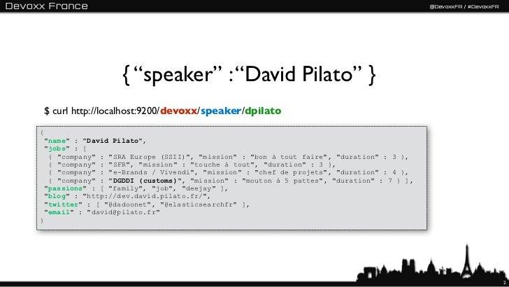 Elasticsearch - Devoxx France 2012 - English version Slide 2