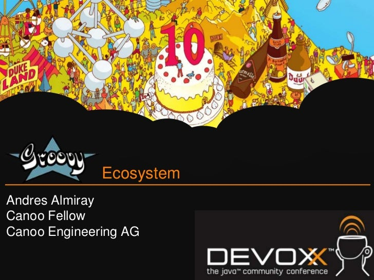 EcosystemAndres AlmirayCanoo FellowCanoo Engineering AG