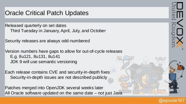 The Anatomy of Java Vulnerabilities (Devoxx UK 2017)