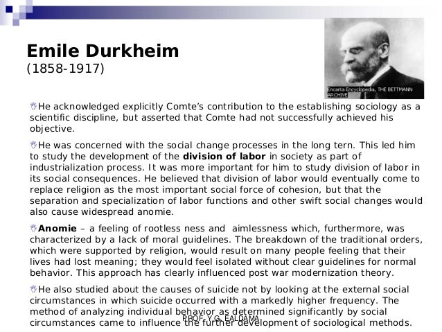 durkheim s modernization theory Application of the modernization theory to democratization needs to incorporate both conditions: increasing wealth and increasing crime  durkheim (1893).