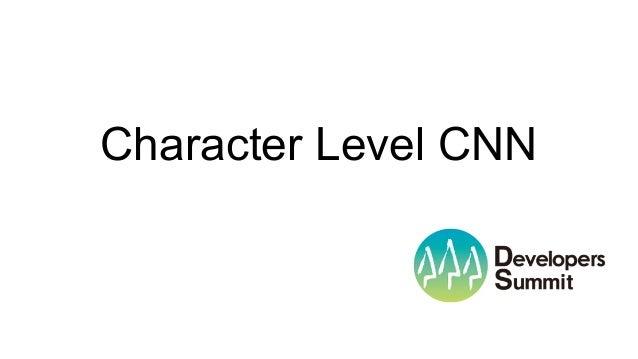 Character Level CNN