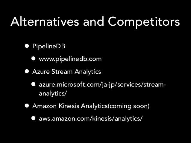 Stream processing in Mercari - Devsumi 2015 autumn LT