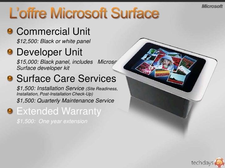 Microsoft Surface transforme…<br />Convivialité<br />Venteau détails<br />Industries<br />Services Financiers<br />Santé<b...
