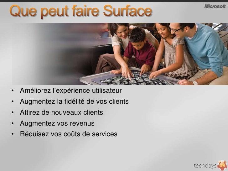 Surface est multi-user