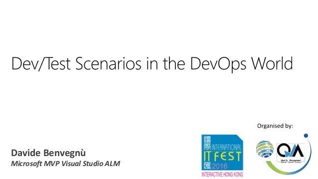 Davide Benvegnù Microsoft MVP Visual Studio ALM