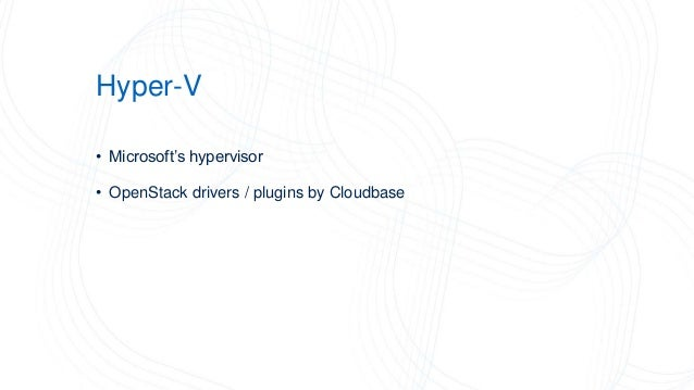 Openstack Nano Server Hyper V S2d