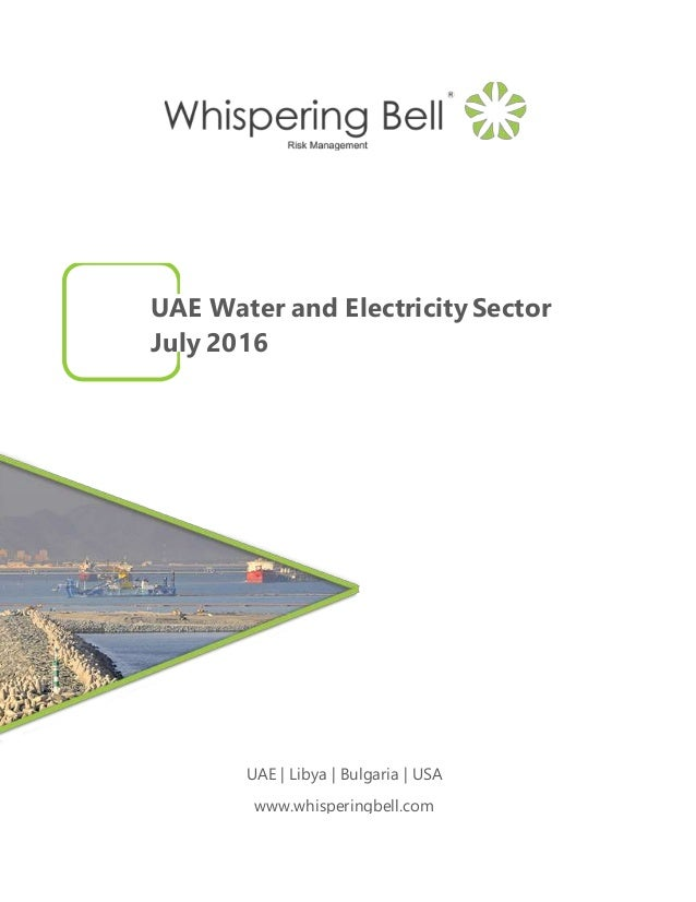 UAE Water and Electricity Sector