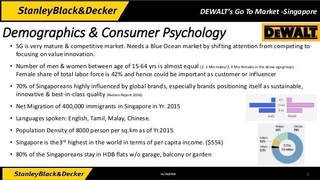 DeWalt's Go To Market for Singapore Slide 3