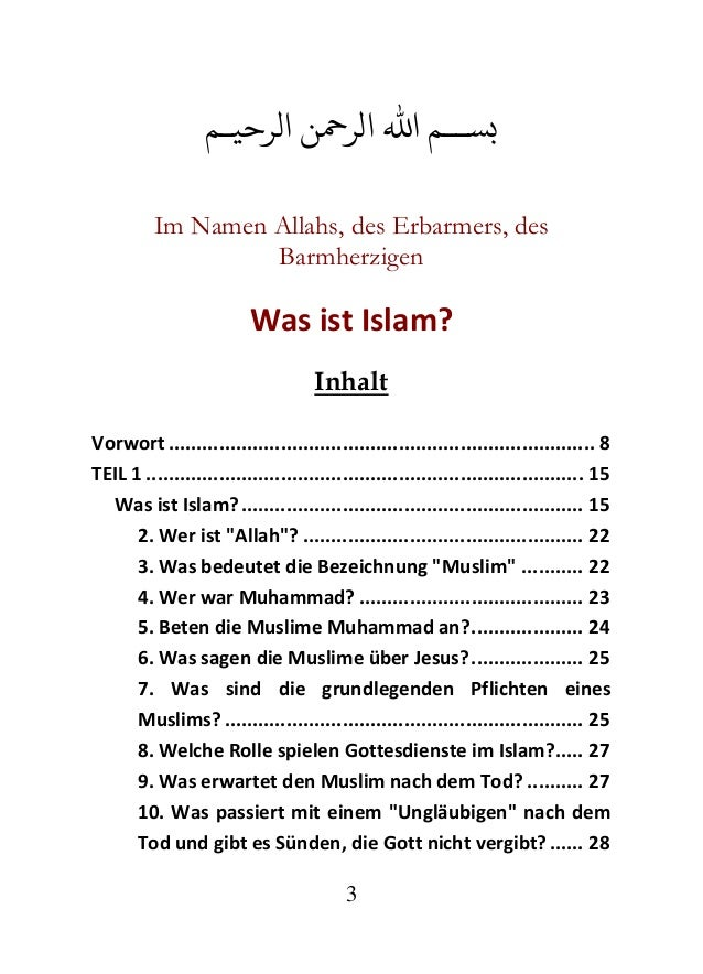 abtreibung im islam