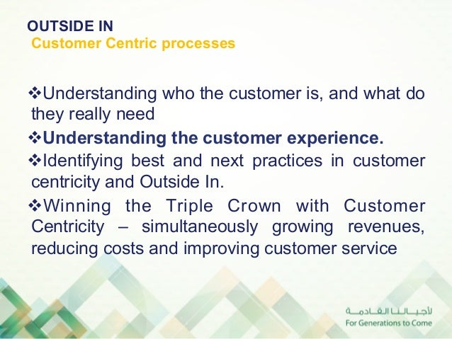 The                        Customer                        Experience                        is the                       ...