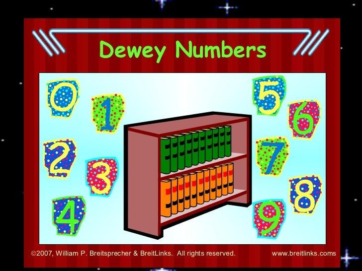 Dewey Numbers