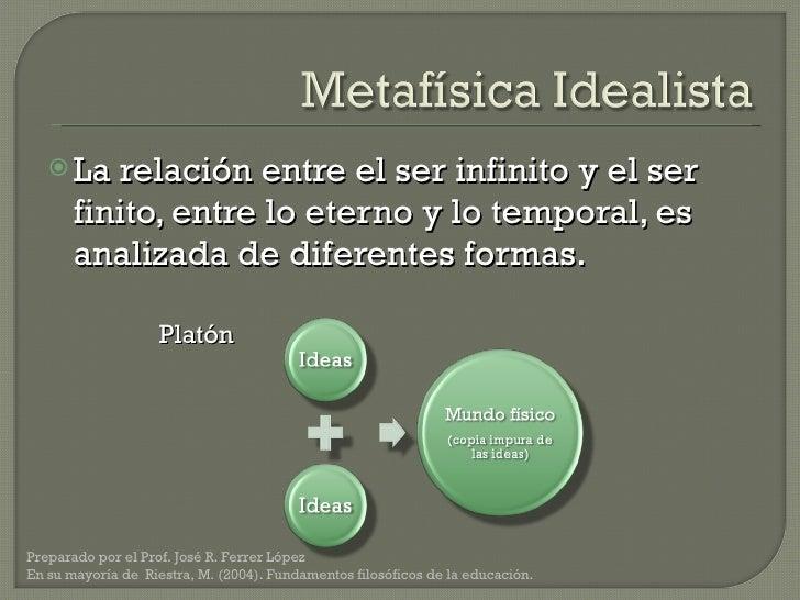 <ul><li>La relación entre el ser infinito y el ser finito, entre lo eterno y lo temporal, es analizada de diferentes forma...