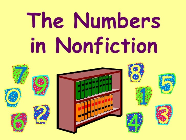 The Numbersin Nonfiction