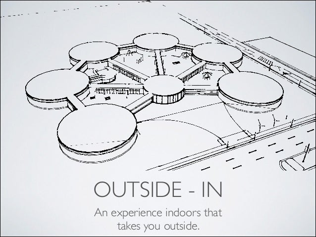 OUTSIDE - IN An experience indoors that takes you outside.