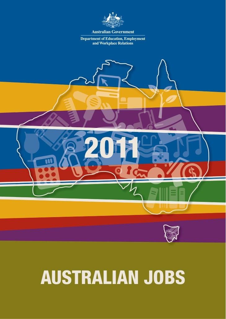 2011AUSTRALIAN JOBS