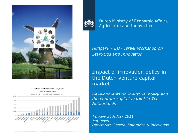 Hungary – EU - Israel Workshop on Start-Ups and Innovation   Impact of innovation policy in the Dutch venture capital mark...