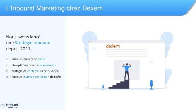 Workshop Dexem à la conférence Inbound Marketing France 2019 Slide 3