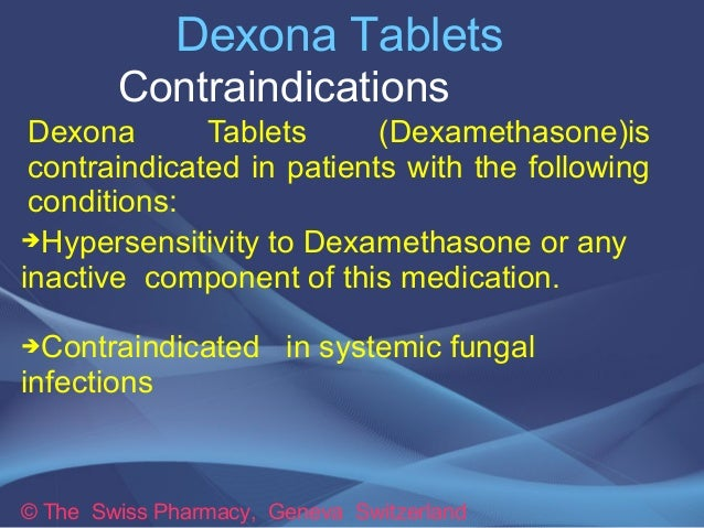 Dexamethasone tablets ip 0.5 mg demisone