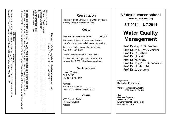 Prof. Dr.-Ing. K.H. Rosenwinkel   3rd dex summer school                                                                   ...