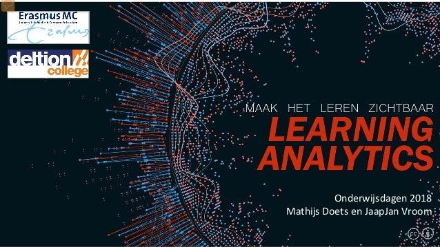 Onderwijsdagen 2018 Mathijs Doets en JaapJan Vroom